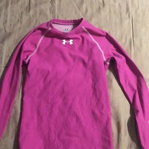 Under armour girls cold gear